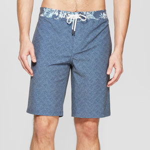 """Men's 10"""" Ditzy Stamp Board Shorts"""